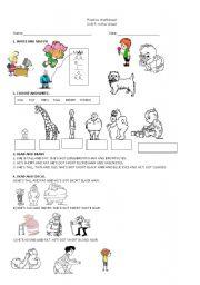 Happy Street worksheets