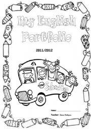 Portfolio cover worksheets
