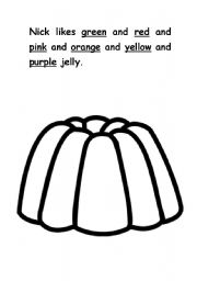 English worksheets: Red Rockets and Rainbow Jelly III