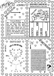 Mother´s day worksheets