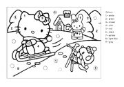 Hello Kitty worksheets