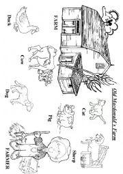 Old Macdonald had a Farm worksheets