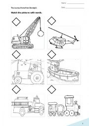 This is worksheet for the storybook