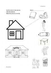 Kinder worksheets worksheets