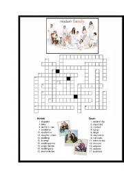 Modern family worksheets