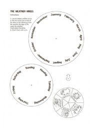 Wheels worksheets