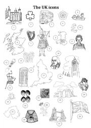 The United Kingdom worksheets