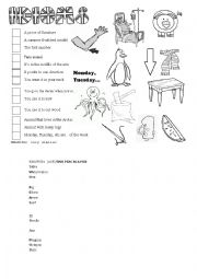 Guessing games worksheets