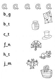 The vowels worksheets