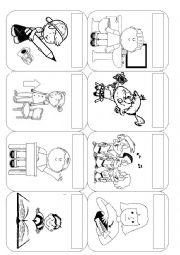 Classroom commands worksheets