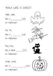 Ghost worksheets