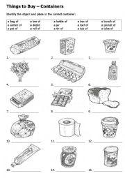 English Exercises: What is a noun?