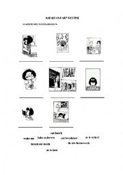 Mafalda worksheets