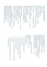 Bohemian Rhapsody worksheets