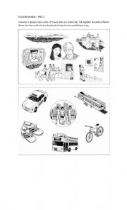 English worksheets: PET exam practice worksheets, page 2