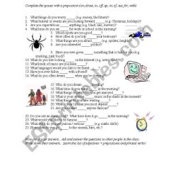 Adjective and prepositions - ESL worksheet by cheeseandegg [ 1169 x 821 Pixel ]