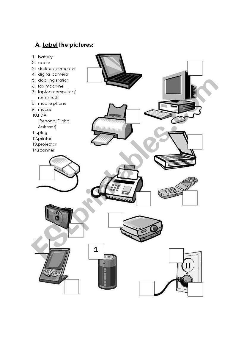Worksheets. Computer Hardware Worksheet. Cheatslist Free