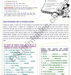 Determiners - ESL worksheet by mimika [ 1169 x 821 Pixel ]