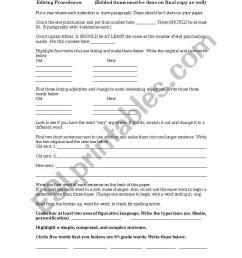 English worksheets: Editing [ 1169 x 821 Pixel ]