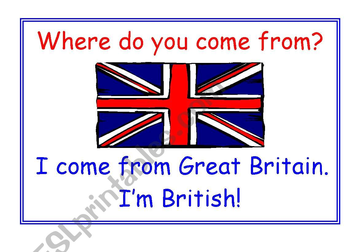 Where Do You Come From