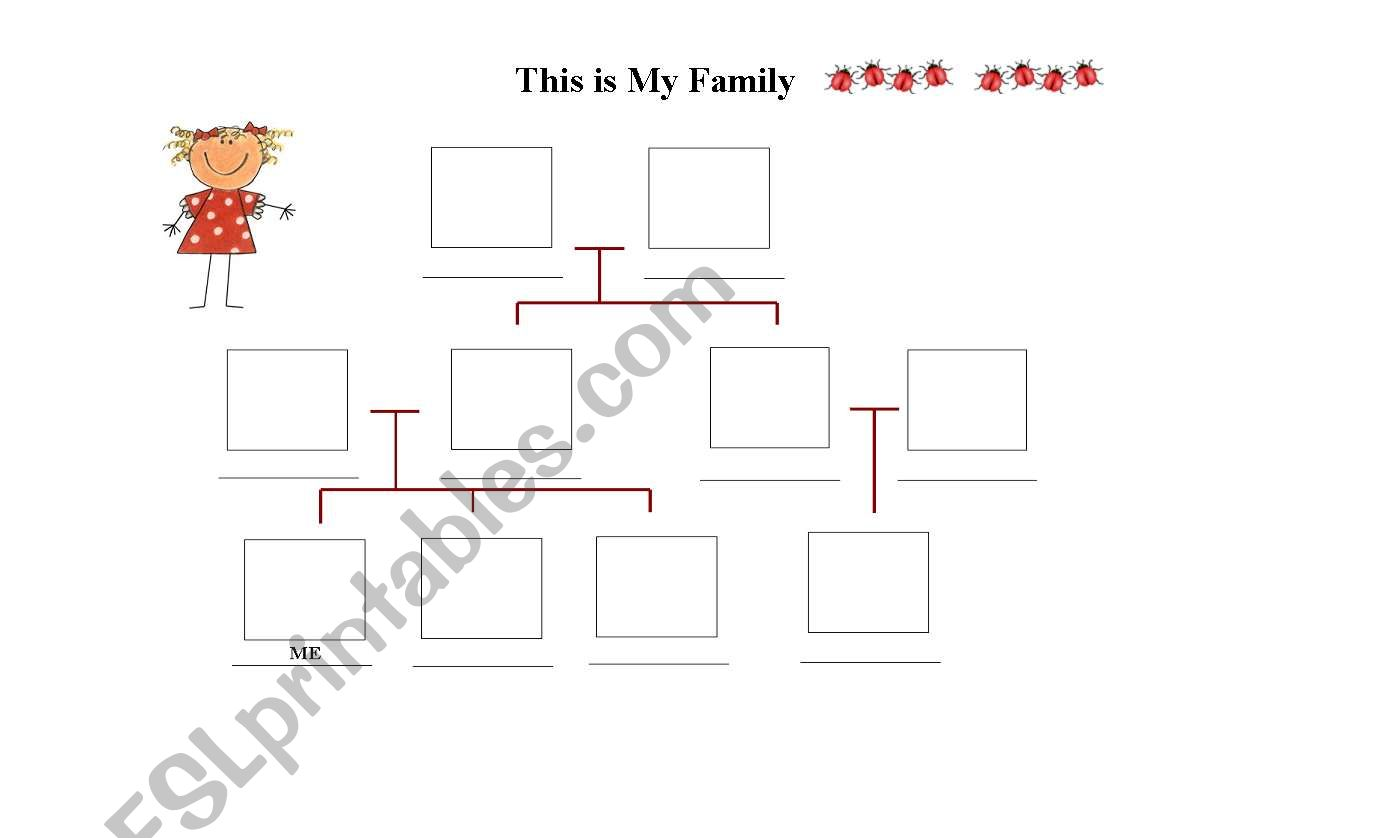 2nd Part Family Tree To Complete The Portfolio 2 Pages