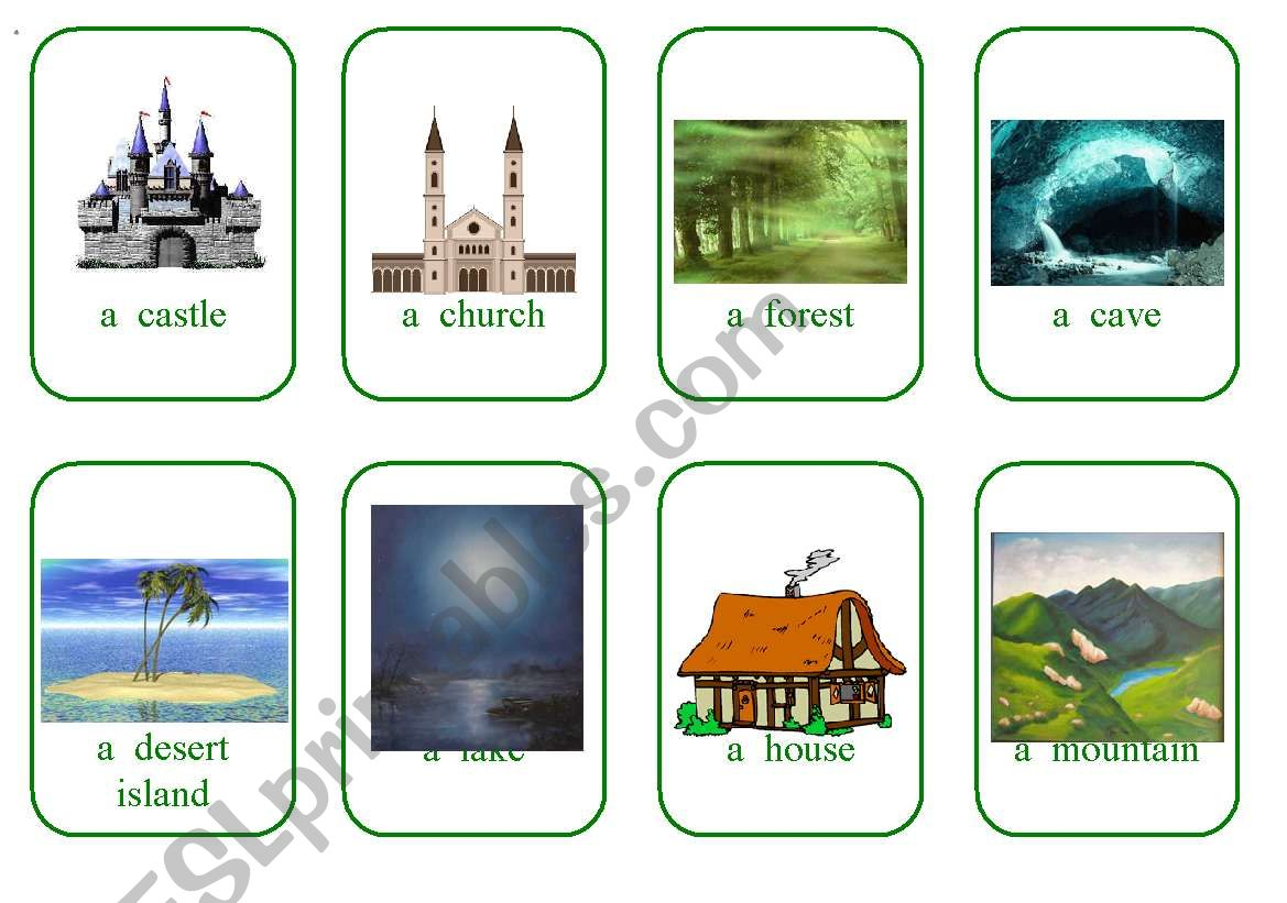 Write Your Own Fairy Tale Cards Game 3 Places