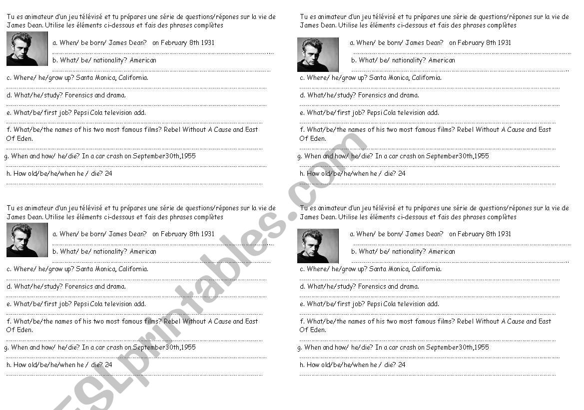 James Dean Biography