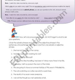 adjective-adverb phrases - ESL worksheet by asli87 [ 1169 x 821 Pixel ]