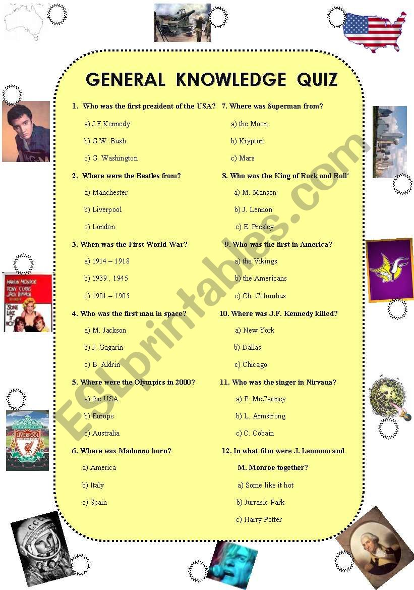 hight resolution of General knowledge quiz (was