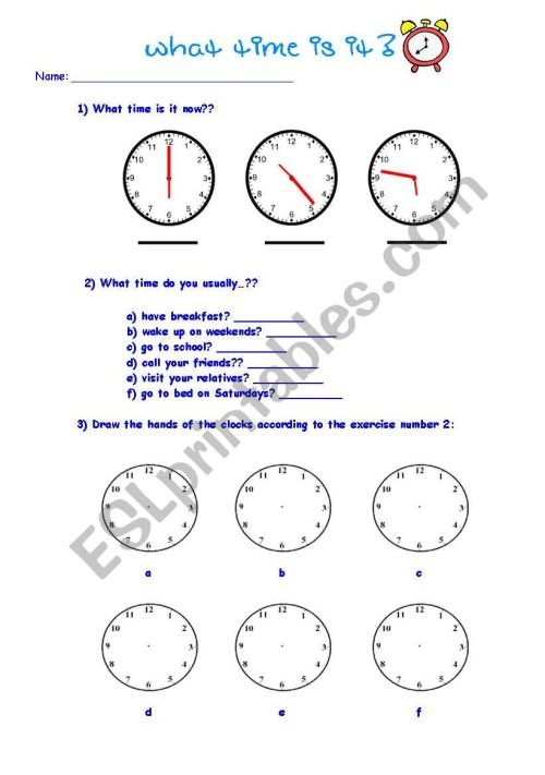 small resolution of Telling time - ESL worksheet by kkl_br