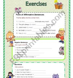 Simple future tense worksheets with answers [ 1169 x 821 Pixel ]