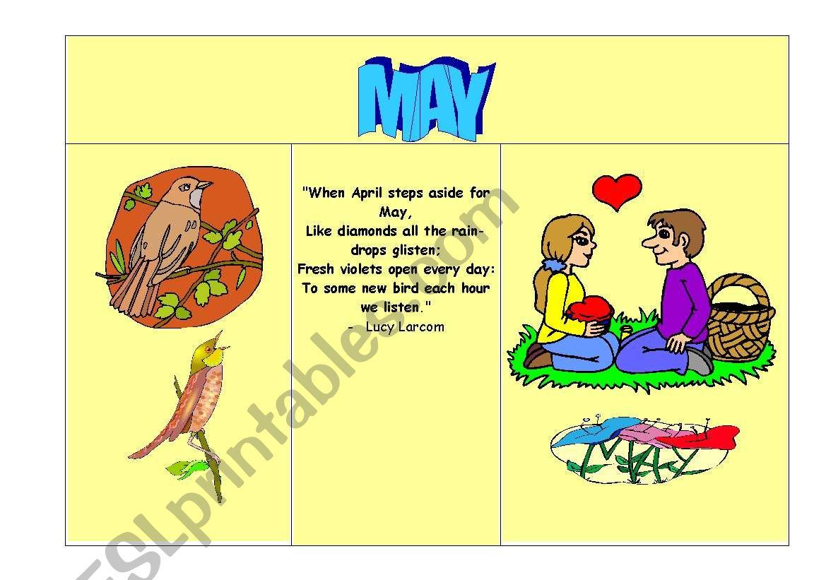 A Rhyming Calendar Part 2