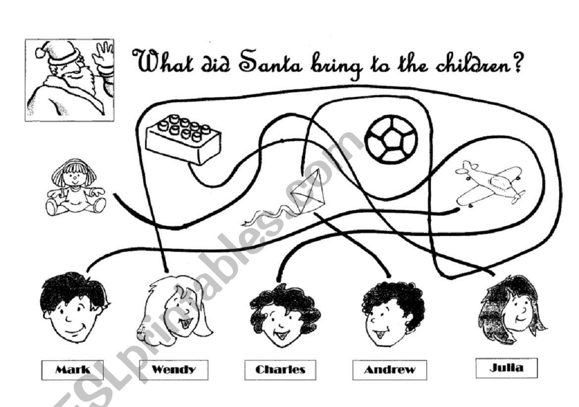 What Did Santa Bring To The Children