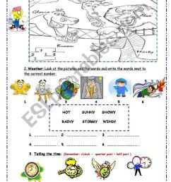 Test for 4th Grade - ESL worksheet by Pacchy [ 1389 x 838 Pixel ]