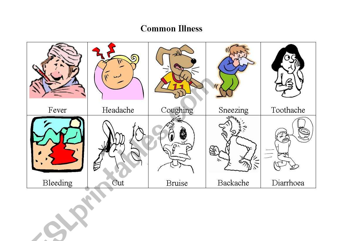 Common Illness Flashcards
