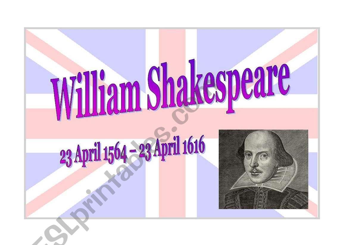 William Shakespeare Part 1