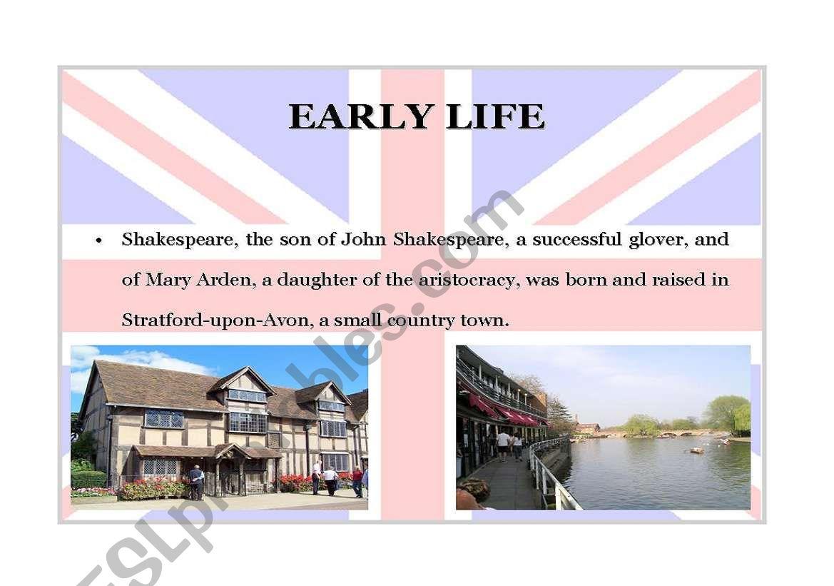 William Shakespeare Part 3