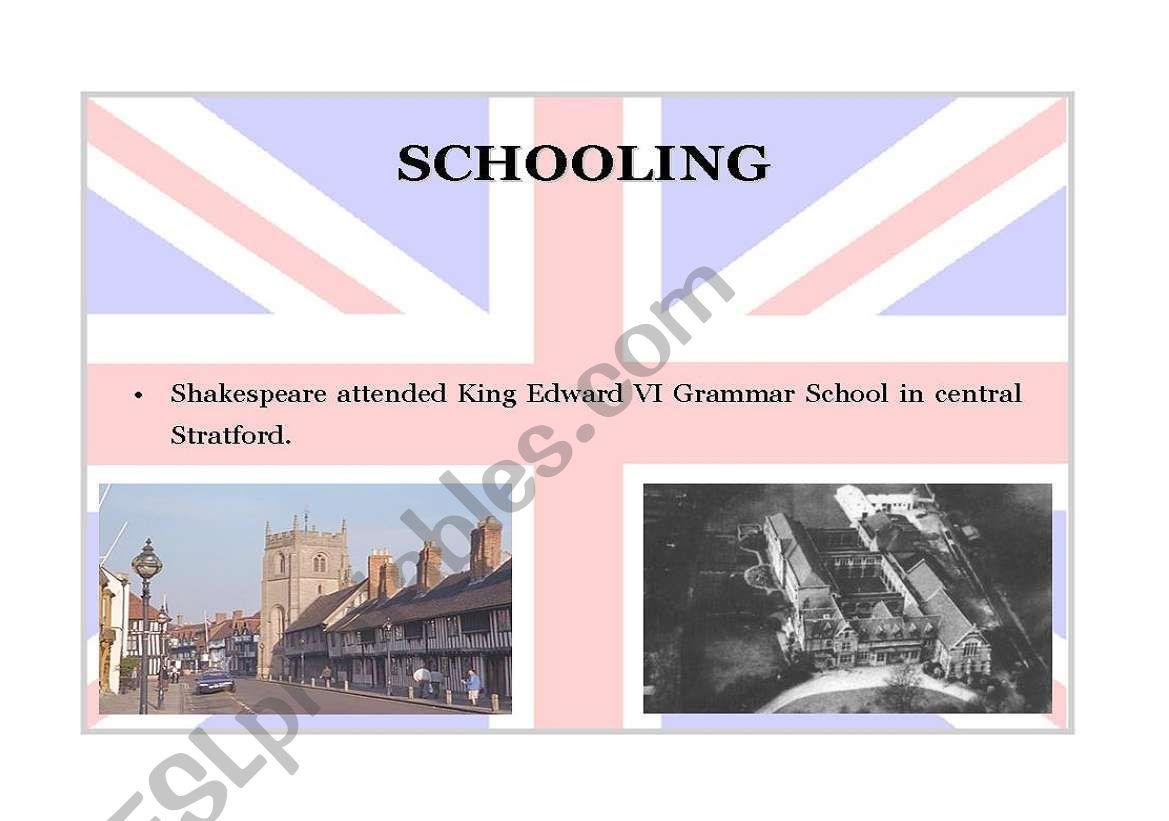 William Shakespeare Part 4
