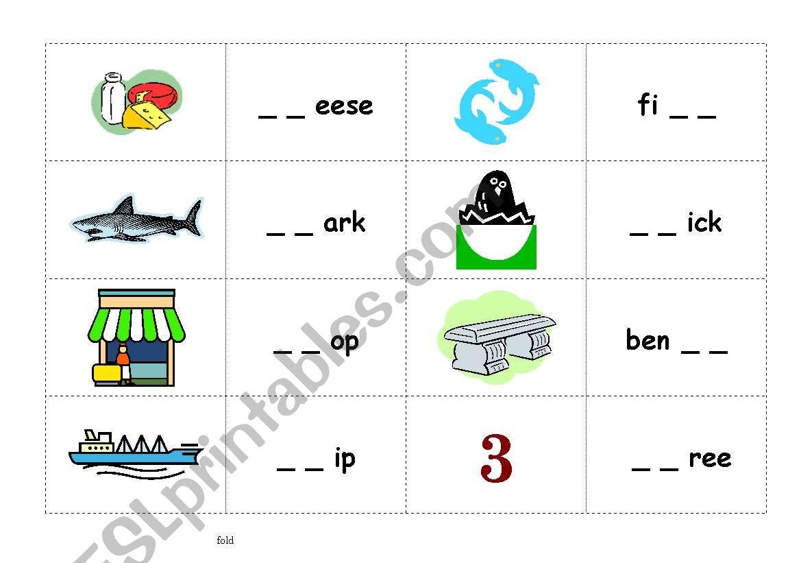 Phonics Sh Ch Th Board Game Card Part2