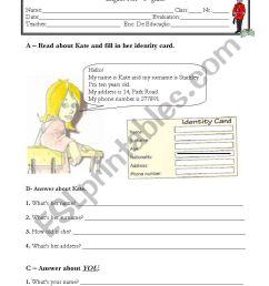 Test 5th grade (1 of 3) - ESL worksheet by LilianaCS [ 1169 x 821 Pixel ]