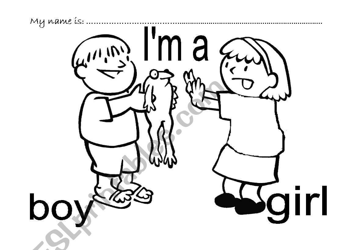 I M A Girl I M A Boy