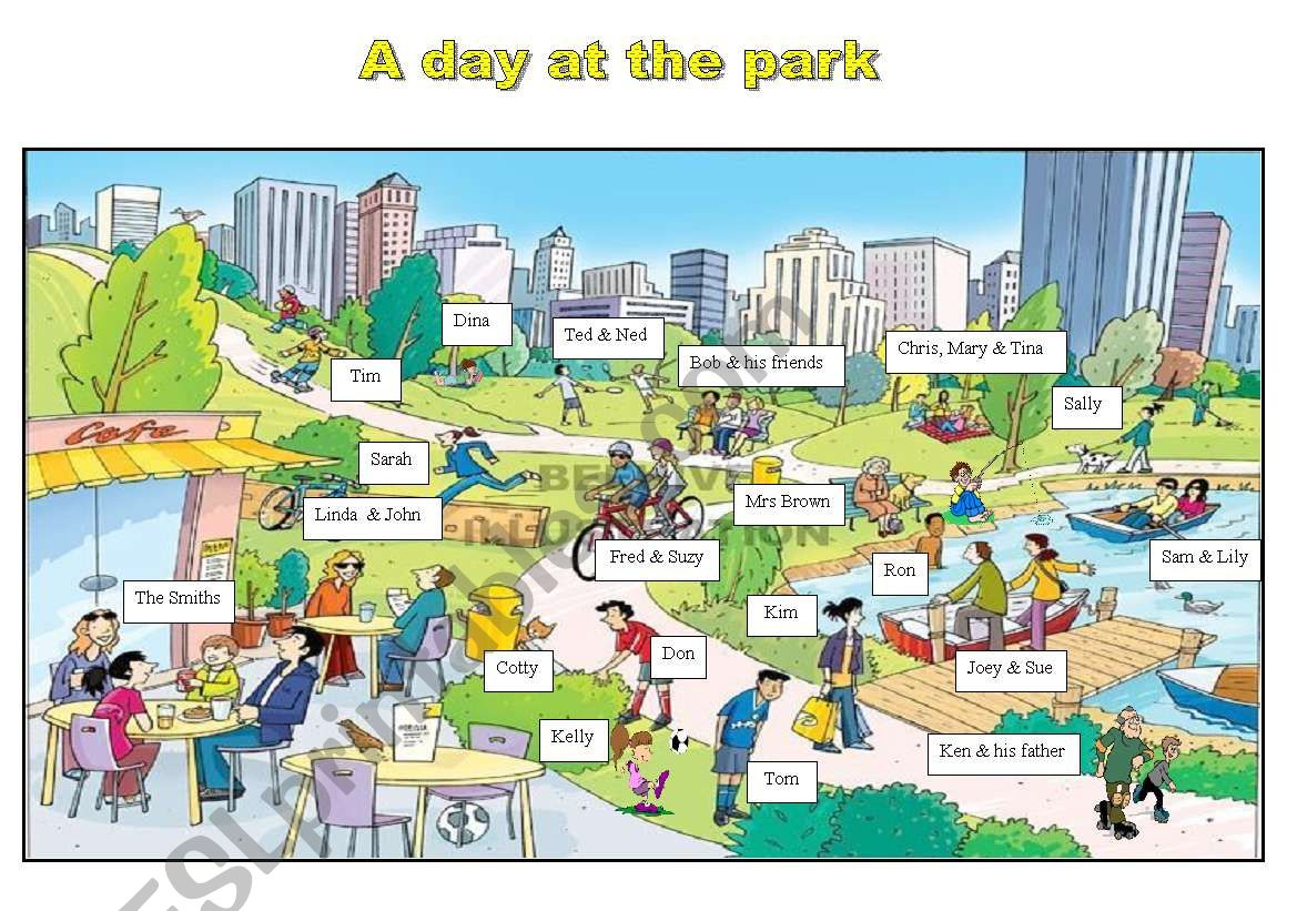 Park Flashcard
