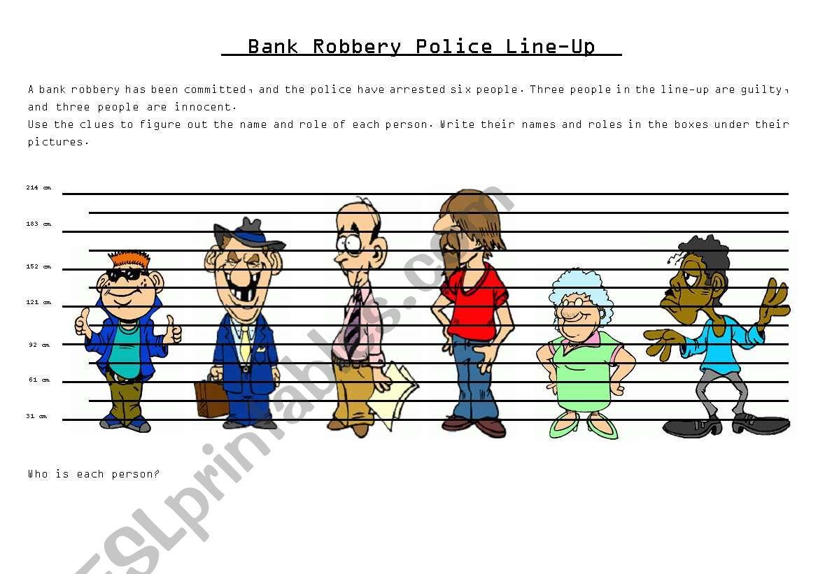 Police Line Up Superlatives