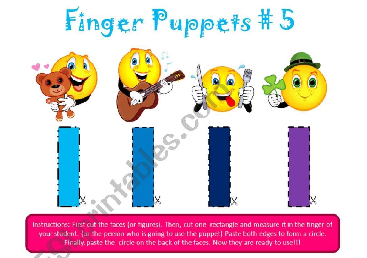Finger Puppets 5