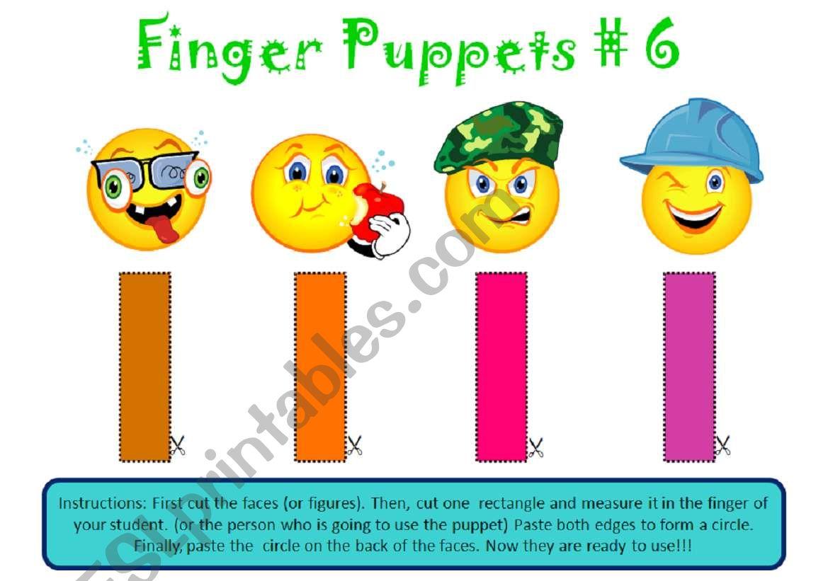 Finger Puppets 6