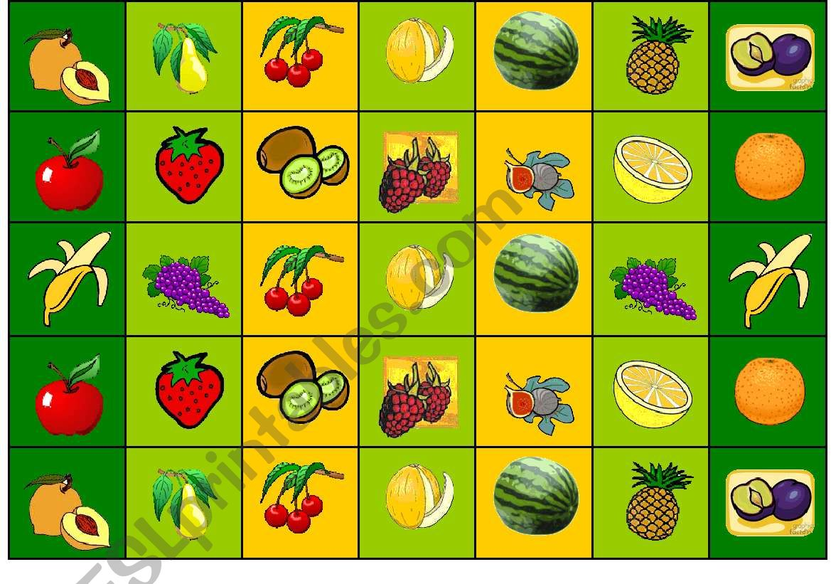 A Game What Fruit Is It Part 2