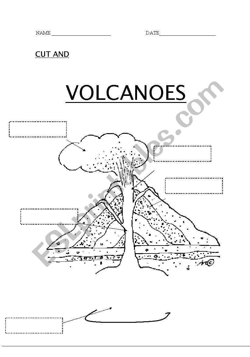 worksheet. Volcanoes Worksheet. Worksheet Fun Worksheet