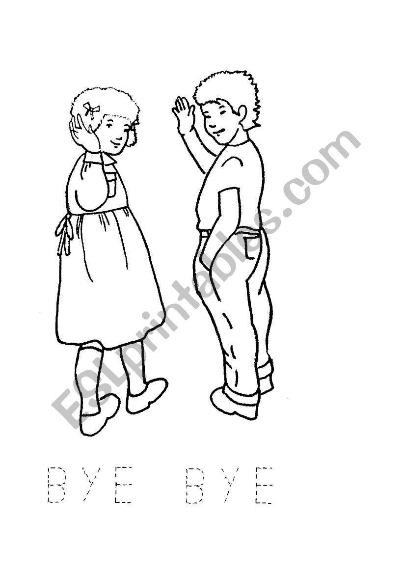 English worksheets: bye bye flash