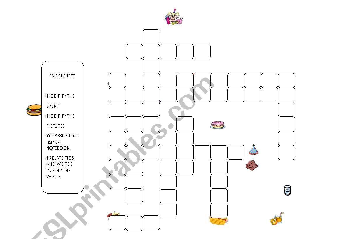 English Worksheets Birthday Worksheet