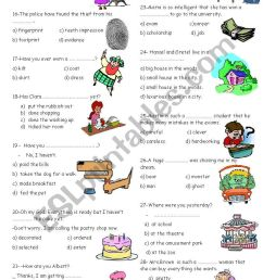vocabulary for 8th grades 2 - ESL worksheet by nigyy [ 1169 x 821 Pixel ]